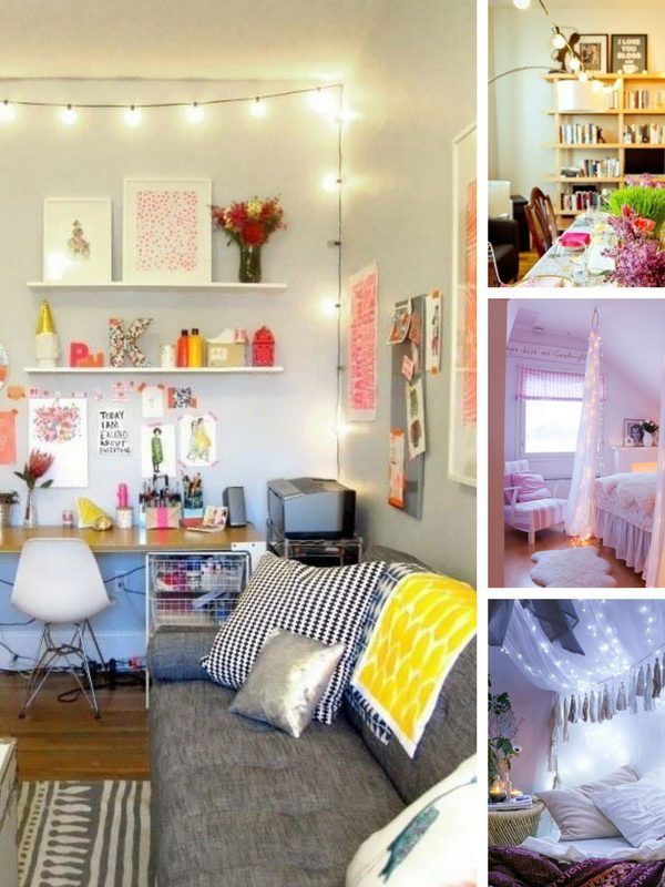 Love these ideas for decorating my whole house with string lights! Thanks for sharing!