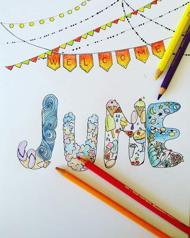 Summer June cover Page