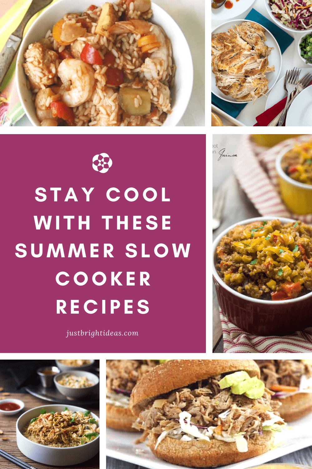 Stay cool this summer with these delicious slow cooker recipes the whole family will enjoy