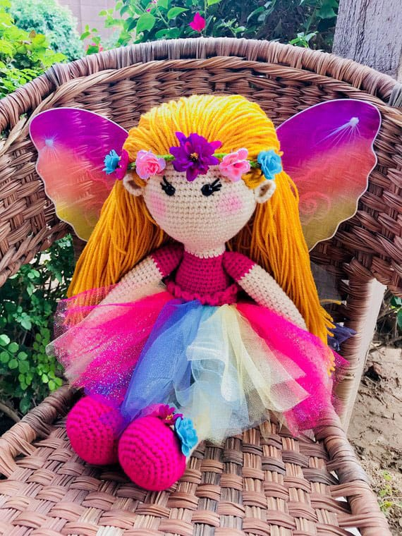 Sweet Fairy Crochet Pattern Doll
