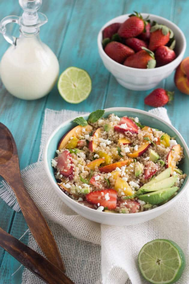 Fruity Quinoa Salad