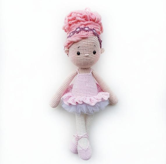 Tammy the Little Ballerina Amigurumi Doll