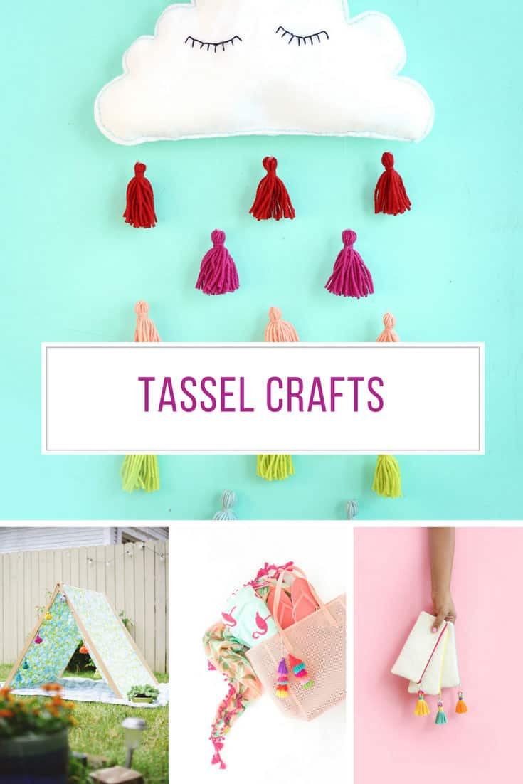 Totally in love with these tassel crafts! Thanks for sharing!