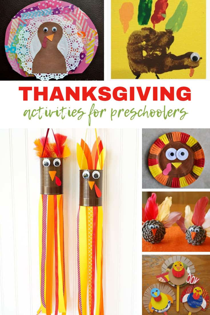 Thanksgiving Activities for Preschoolers {It's all about the turkey!}