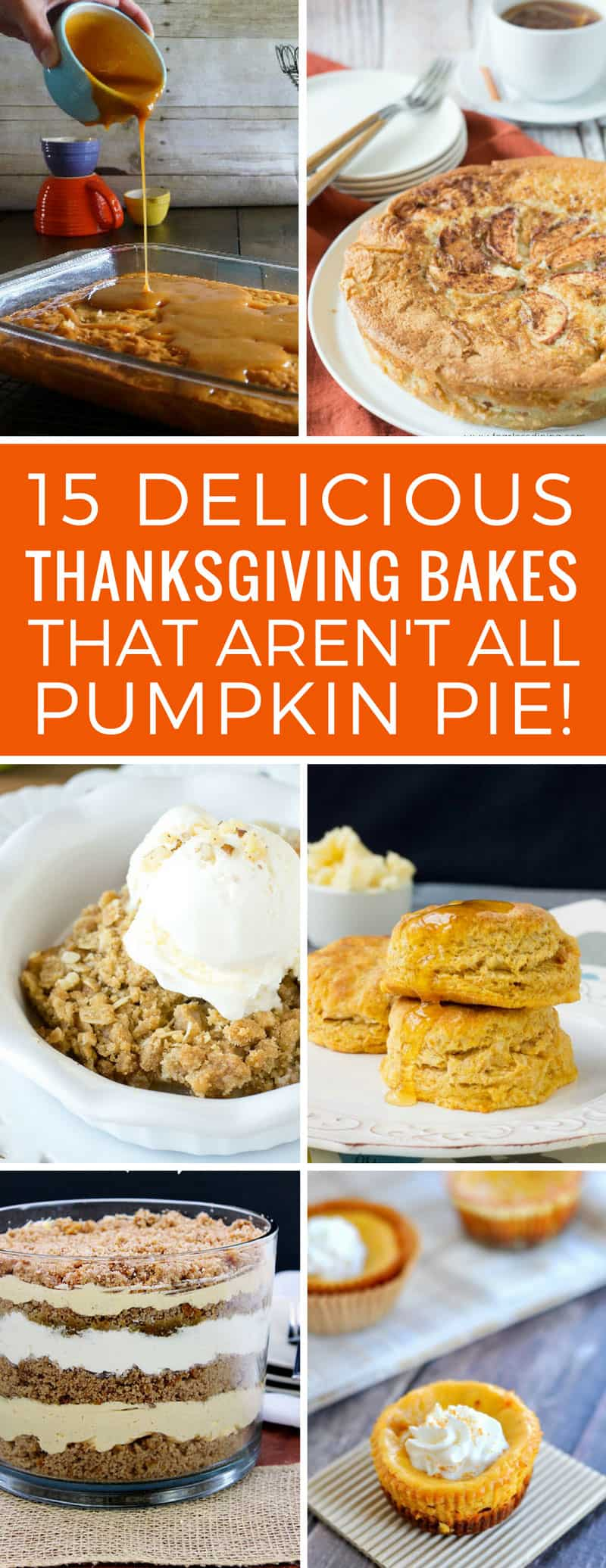 Oh my goodness these Thanksgiving baking ideas are crazy good - especially the one with praline! Thanks for sharing!