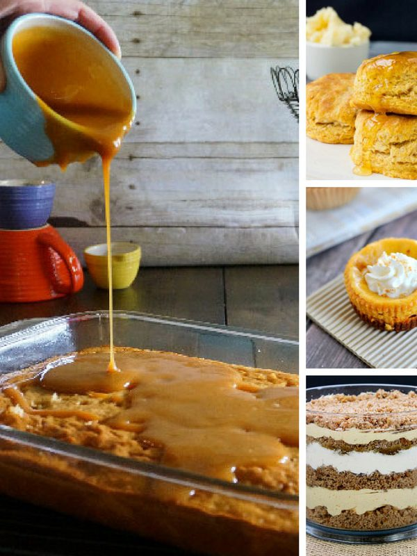 These Thanksgiving baking ideas look delicious and will make a nice change from pumpkin pie!