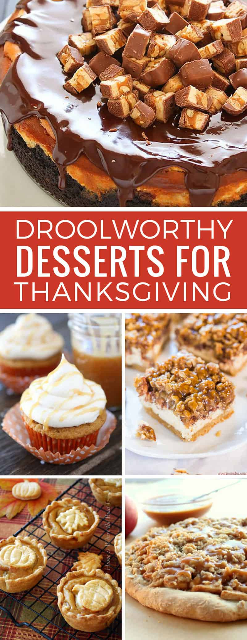 Oh my goodness - maybe I'll start the diet after Thanksgiving - these easy dessert recipes look amazing! Thanks for sharing!