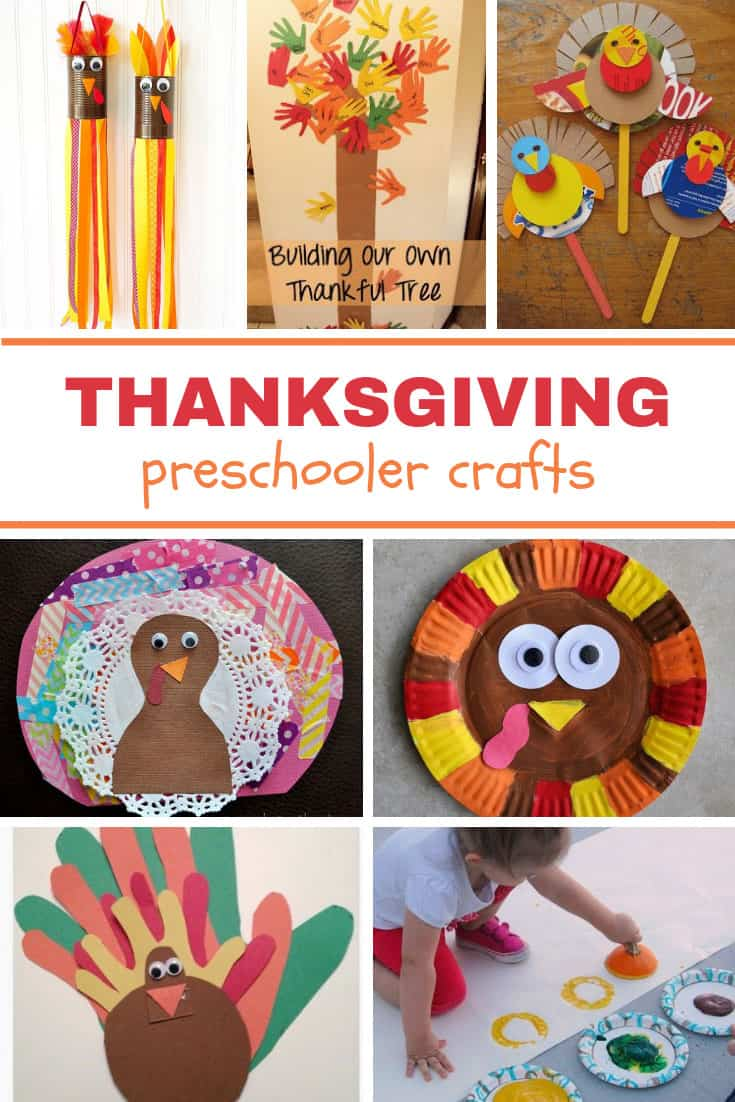 Thanksgiving Preschooler Crafts