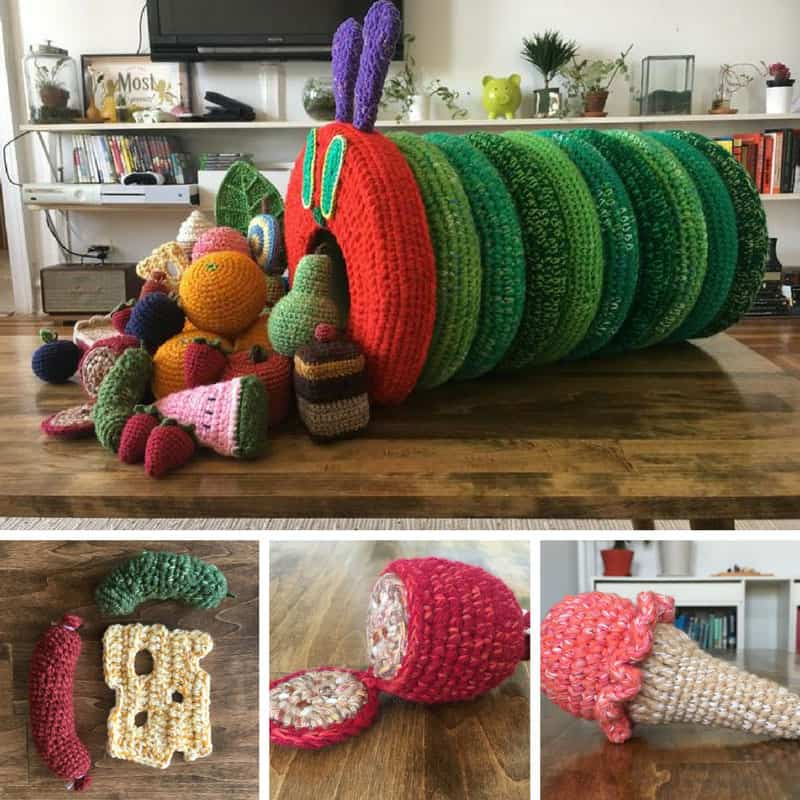 This crochet Hungry Caterpillar is totally amazing!