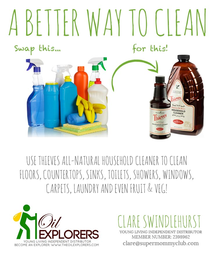 It's time to ditch your toxic cleaning products and go the natural route instead!