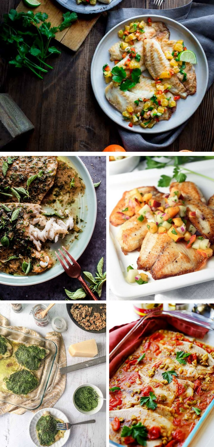 10 Easiest Ever Tilapia Fish Recipes For Quick Healthy Dinners