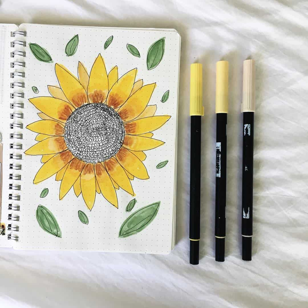 Tombow Sunflower