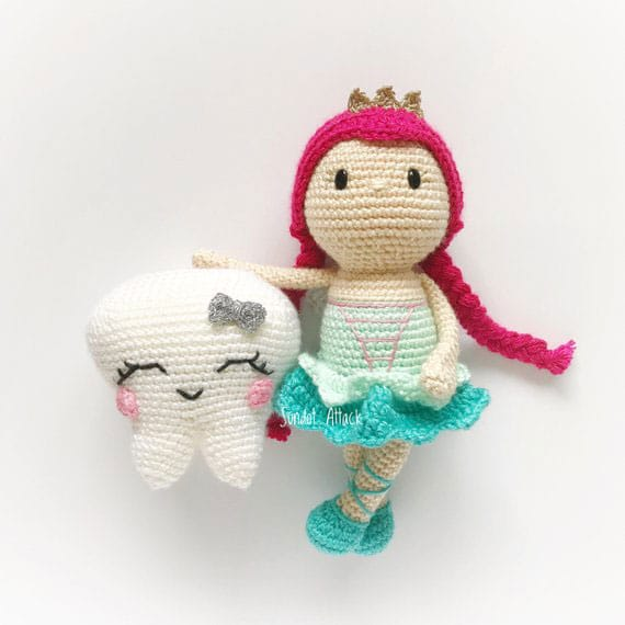 Tooth Fairy Crochet Pattern