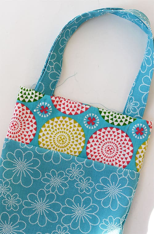 Easy Tote Bag - Kids Sewing Project