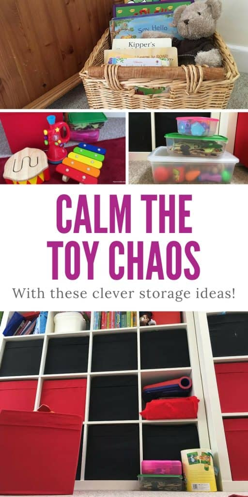 9 Creative Toy Storage Ideas to Help You Calm the Chaos!