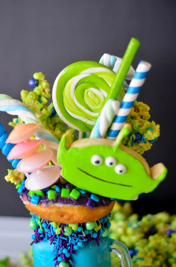 Toy Story Green Alien Freak Shake