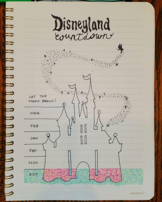 Track your Disney countdown