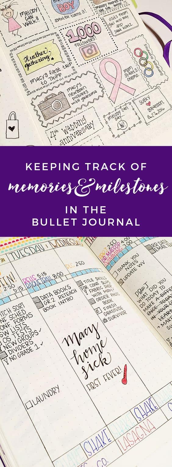Track your memories