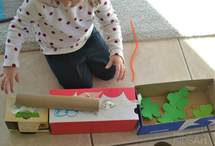 Engineering STEAM Activity: Build a Leprechaun TrapHand Made Kids Art