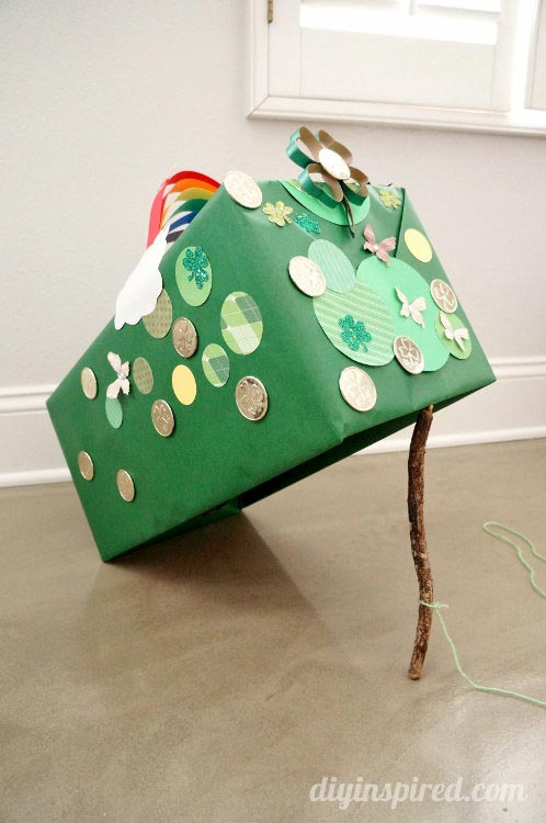 Saint Patrick's Day Leprechaun Trap TraditionDIY Inspired