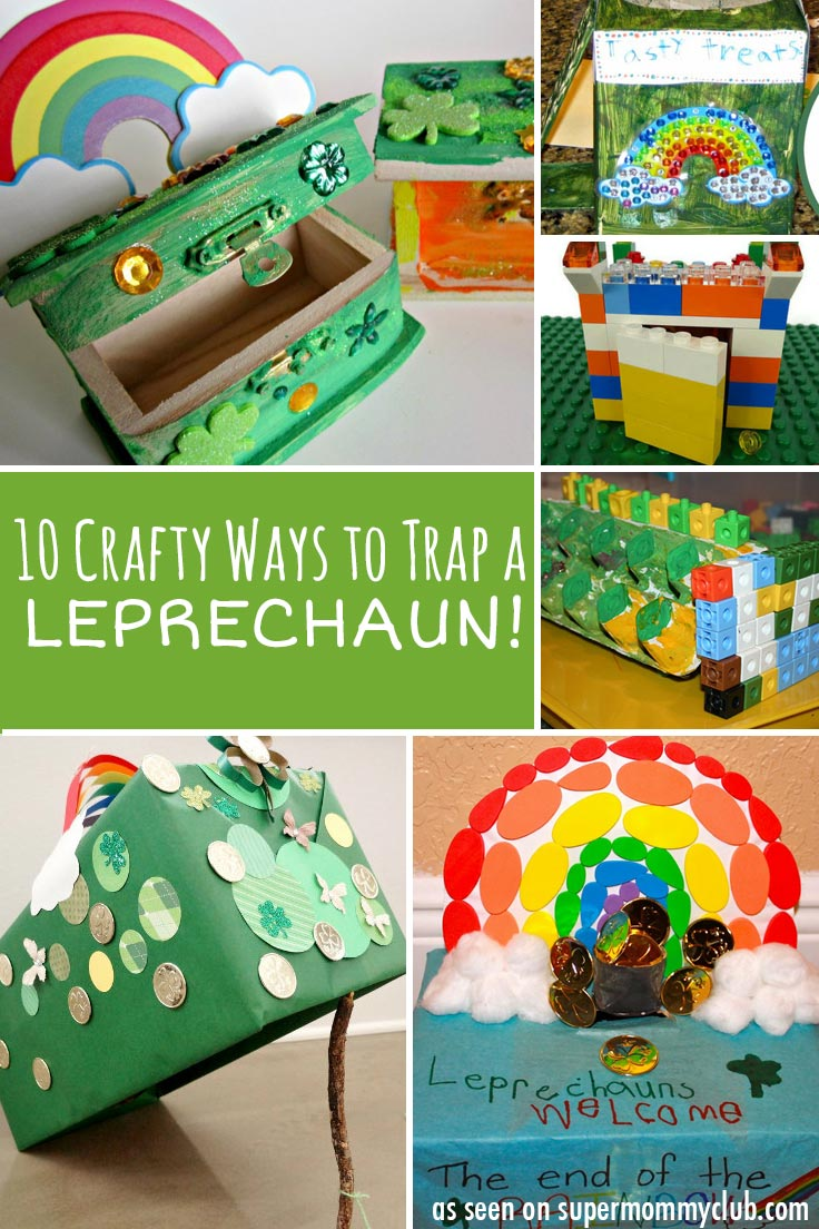 Love these crafty ways to trap a leprechaun!