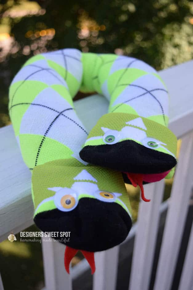 Sock Snake Travel Pillow