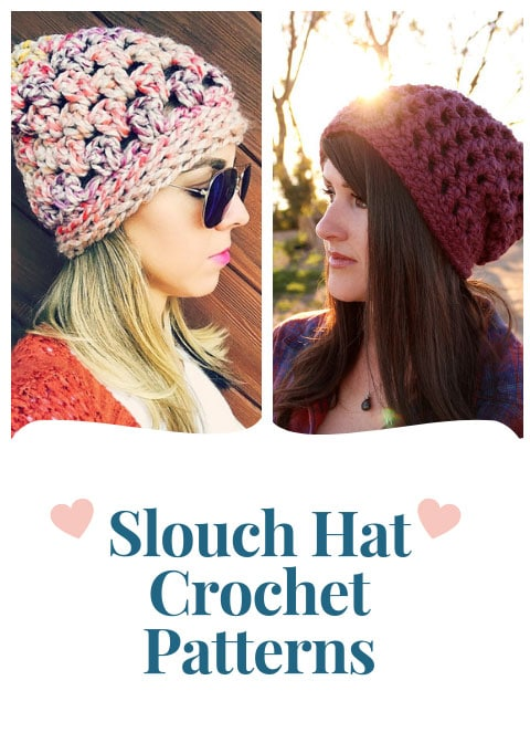 Trendy Slouch Hat Crochet Patterns for Beginners