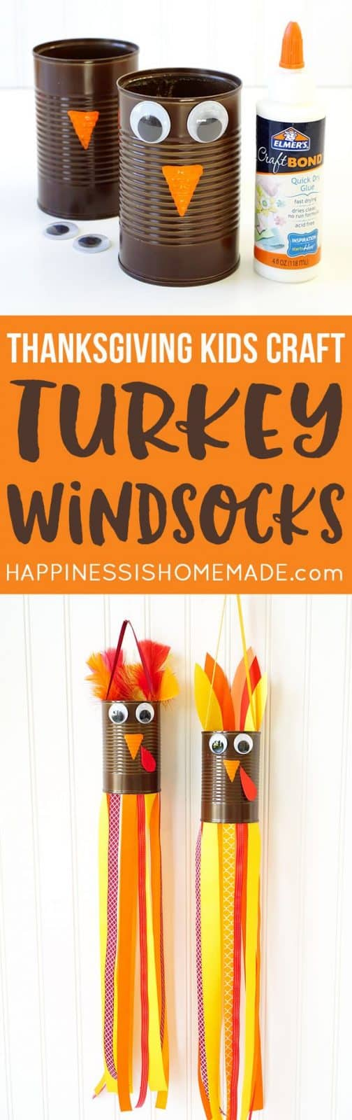 Turkey Windsocks for Preschoolers to Make
