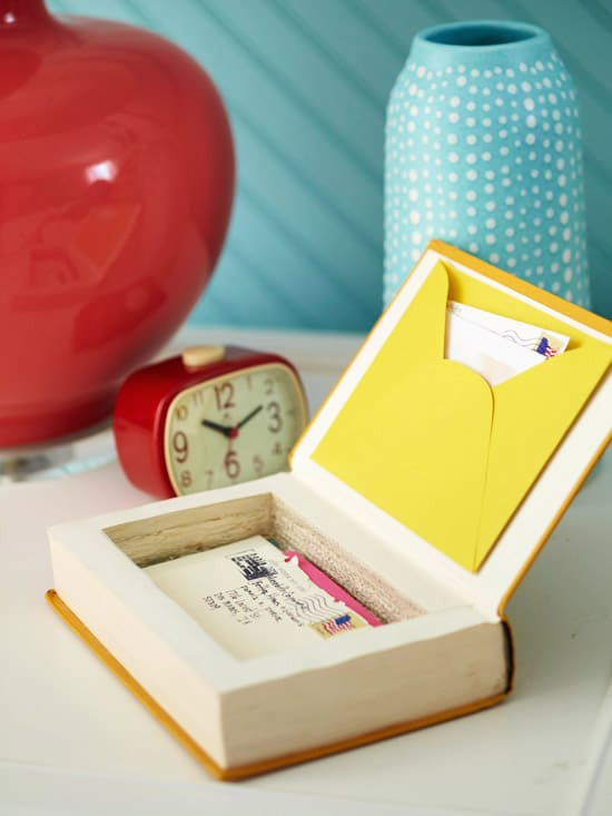 Turn a Book into a Keepsake Box