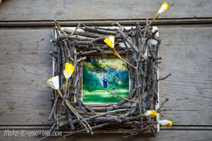 Nature Finds Twig Photo Frame