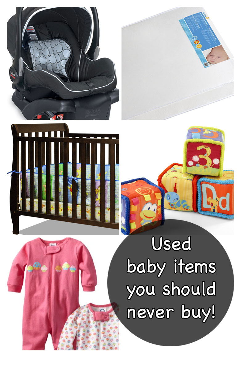 Used Baby Items You Should Never Buy - Pin it for later