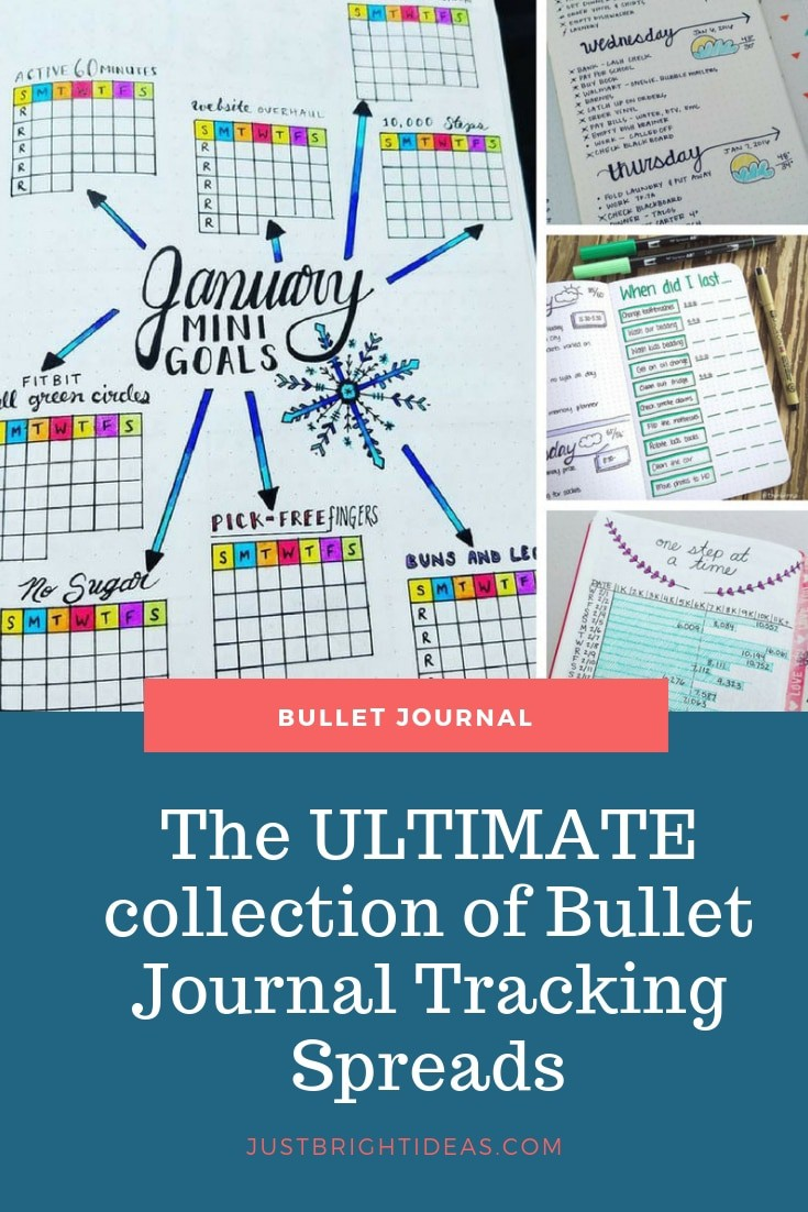 Ultimate collection of Bullet Journal tracking spreads