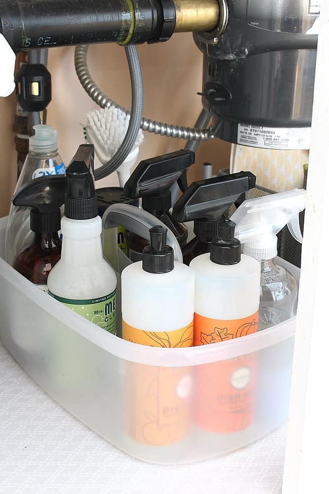 Portable Cleaning Caddy