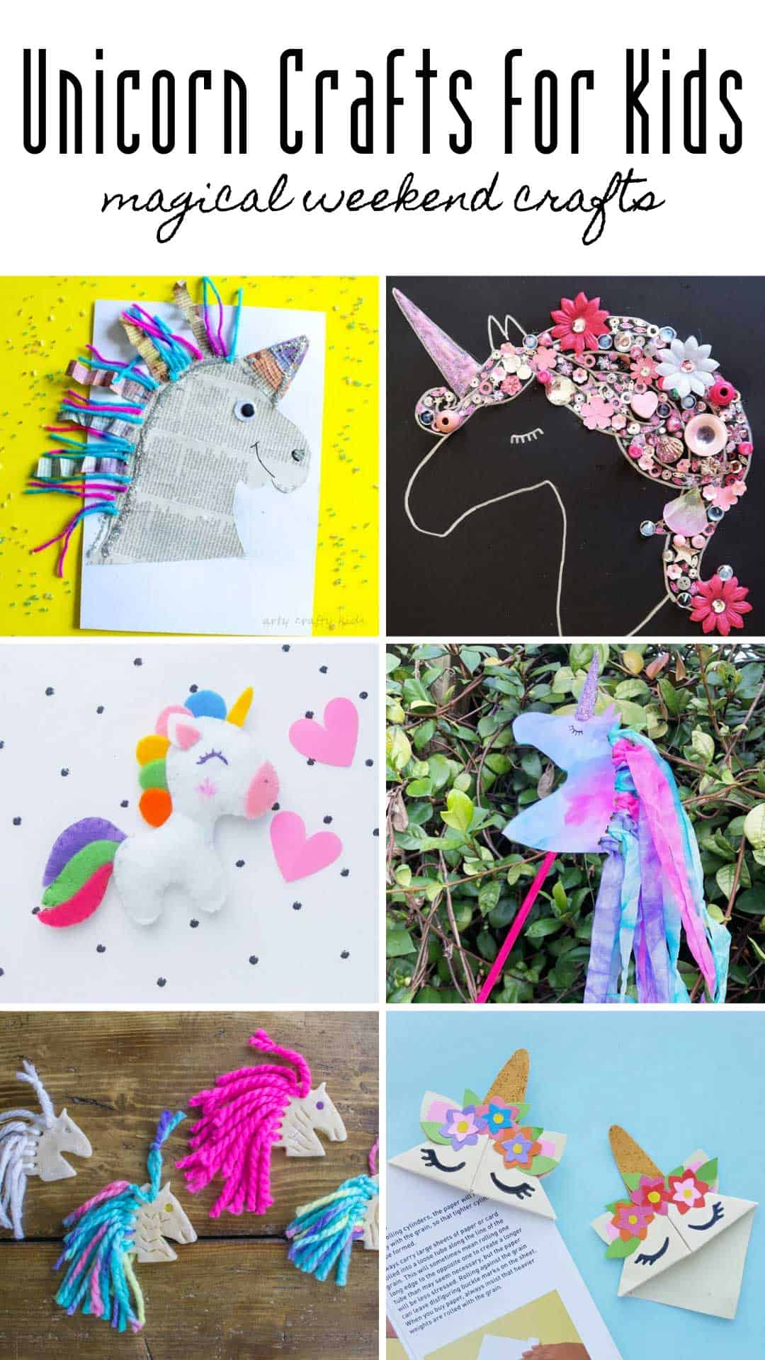So many MAGICAL unicorn crafts for kids to make in this list! Stock up on canvas so the kids can make personalised Christmas gifts!