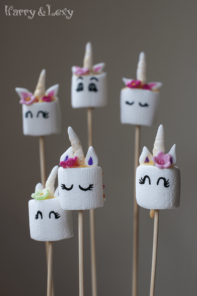 How to Make Easy Unicorn Pops