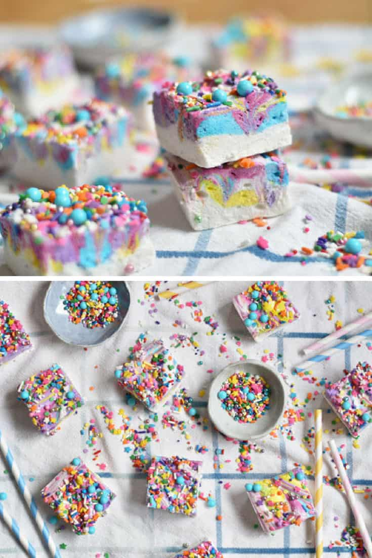 Unicorn Marshmallows