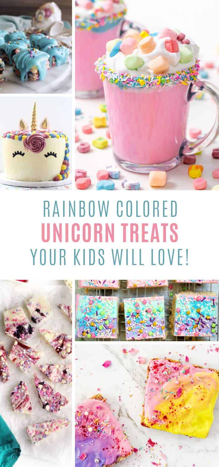 MAGICAL! Love these unicorn treats for kids and parties!