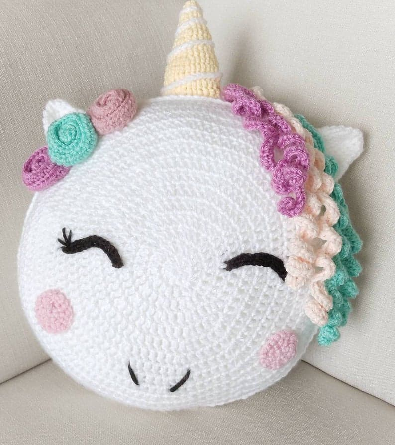 Crochet Unicorn Pattern- 32 Free Crochet Patterns ⋆ DIY Crafts | 895x794