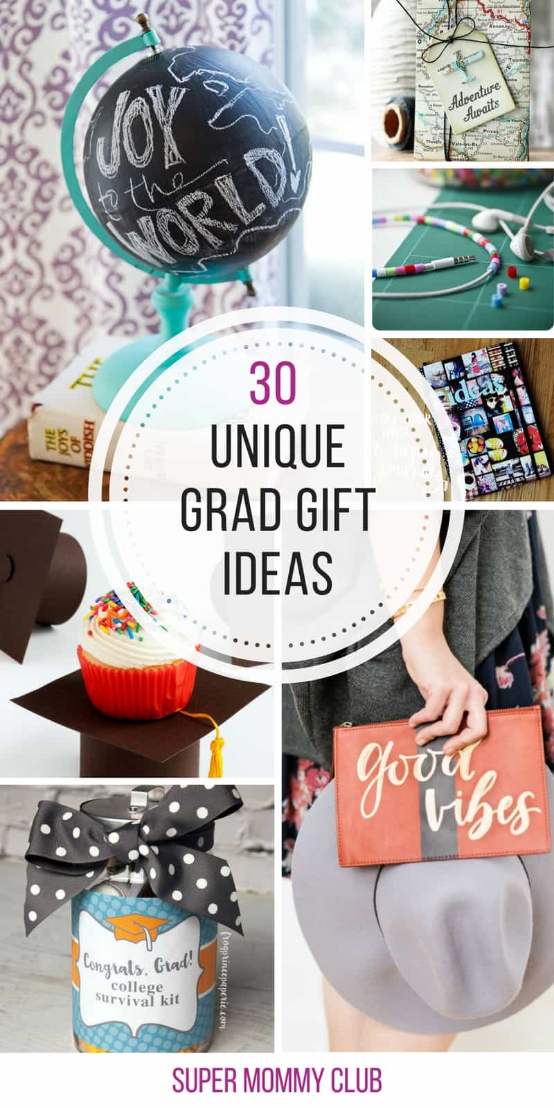Oh so many unique graduation gift ideas - thanks for sharing!