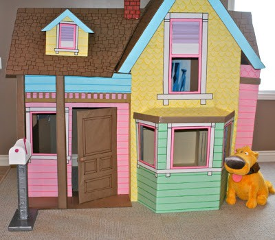 Up Cardboard Playhouse