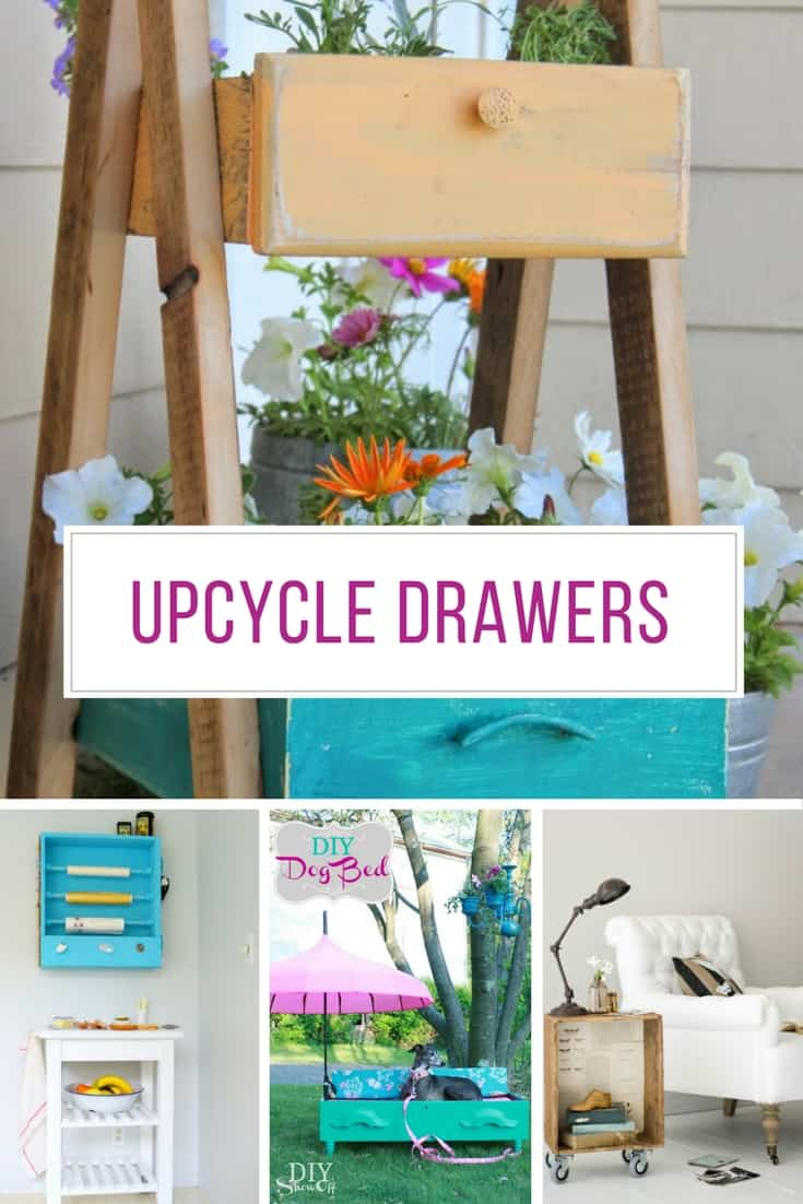 Loving these upcycled drawer projects! Thanks for sharing!