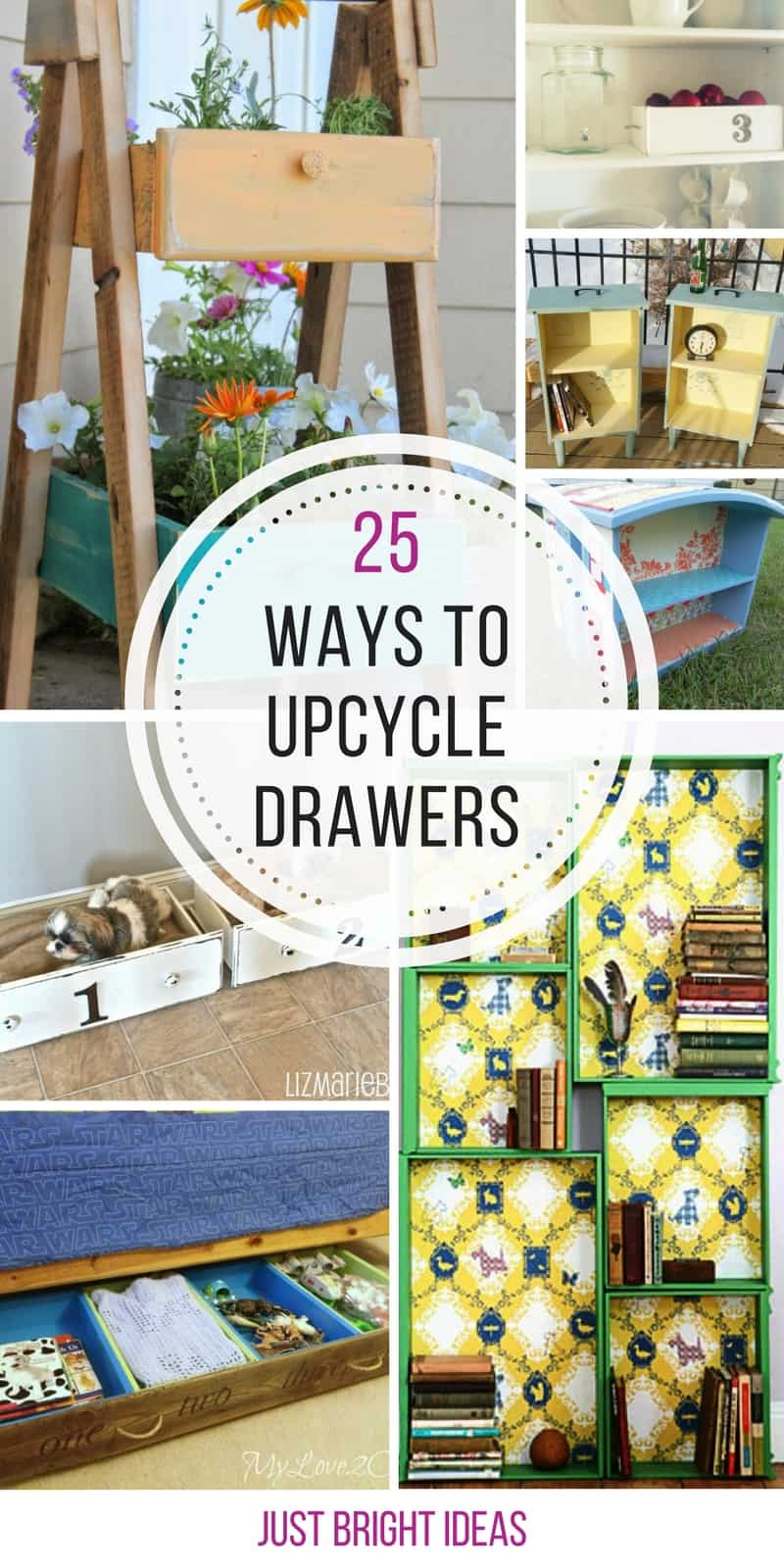 Loving these upcycled drawer projects - thanks for sharing!