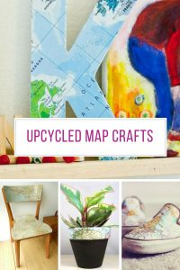 Loving these upcycled map crafts! Thanks for sharing!