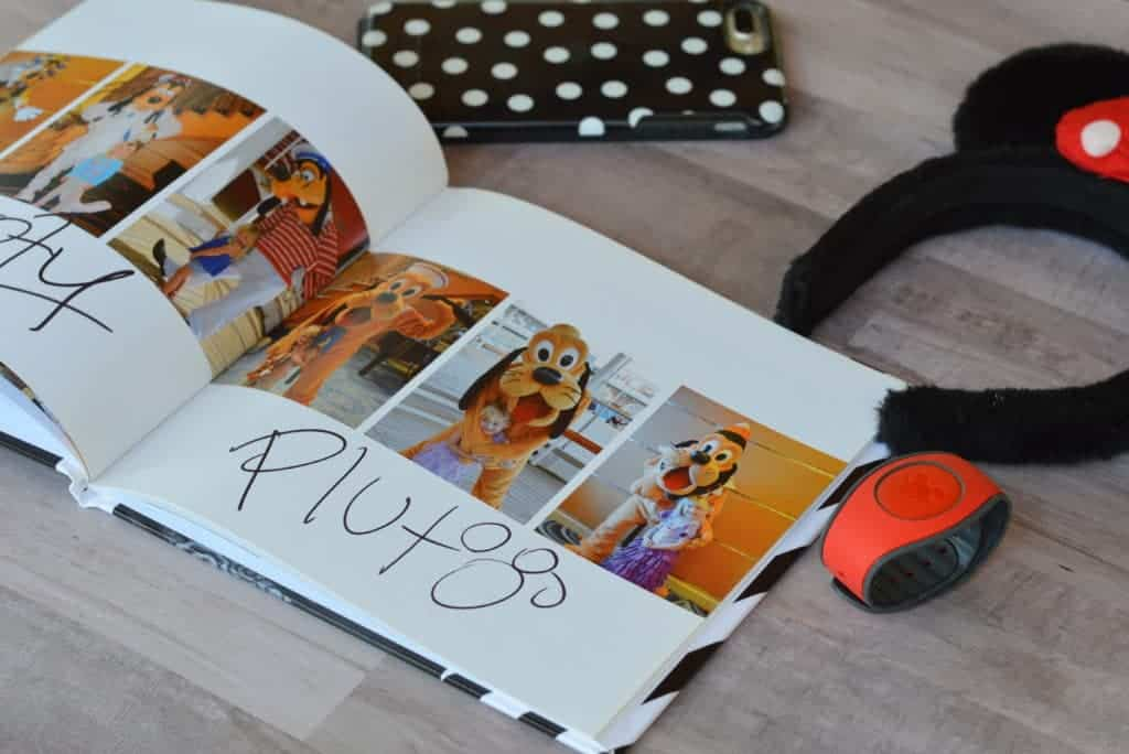 Use your old character photos to make an autograph book