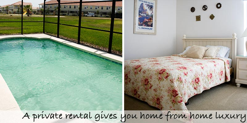 Vacation rentals near Disney World give you a home away from home
