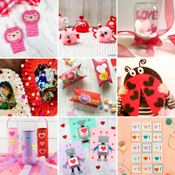 23 Adorable Valentine's Day Crafts for Kids to Make