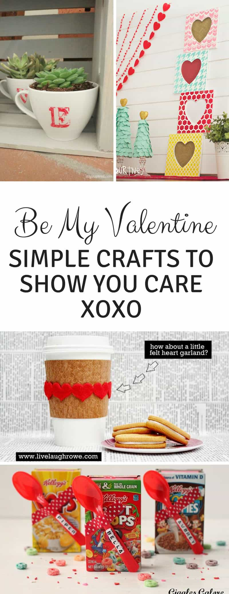 Valentines Day Crafts for Grownups - Is your home looking just a little bare after taking down all of the Christmas decorations? Why not decorate for Valentine's Day? We've rounded up some of the best Valentine's Day crafts we could find so you can spread a little love ahead of February 14. Because we shouldn't save the love for just one day a year right?