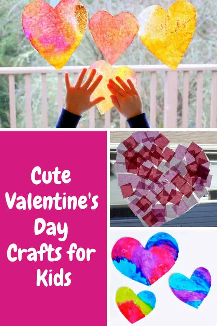 Loving these Valentine's Day crafts for toddlers - so much fun!