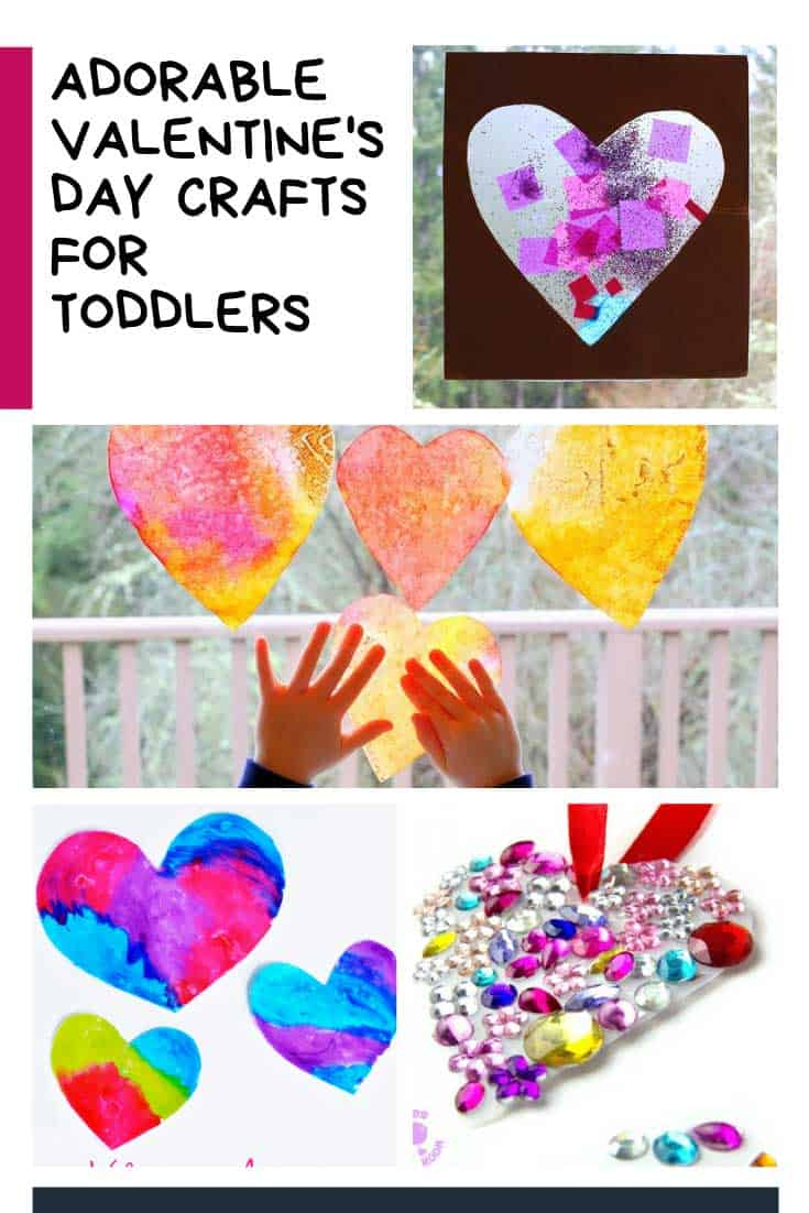 Loving these CUTE Valentine's Day Crafts for toddlers!