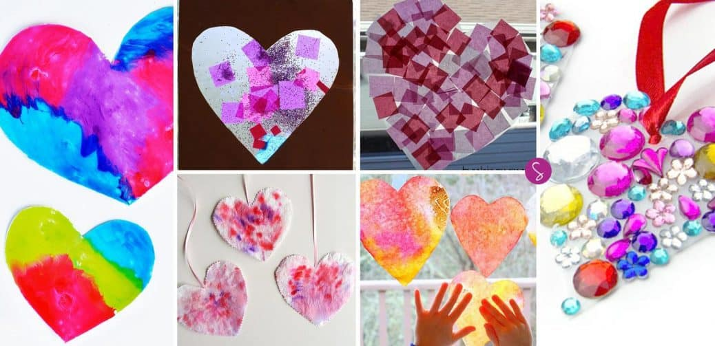 ADORABLE Valentine's Day Crafts for Toddlers!